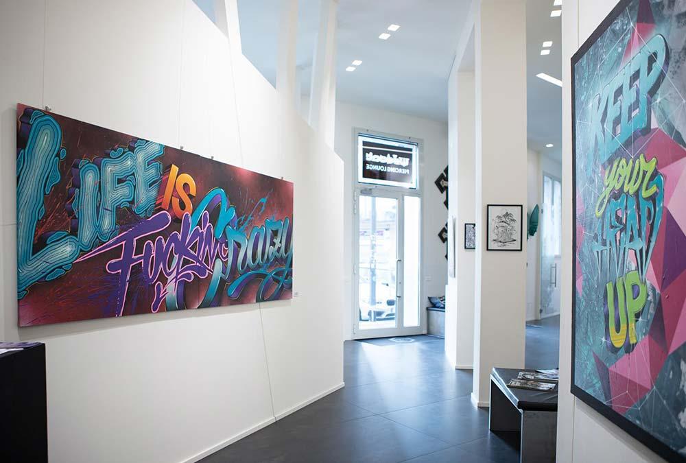 galleria d'arte Hive tattoo art gallery Milano