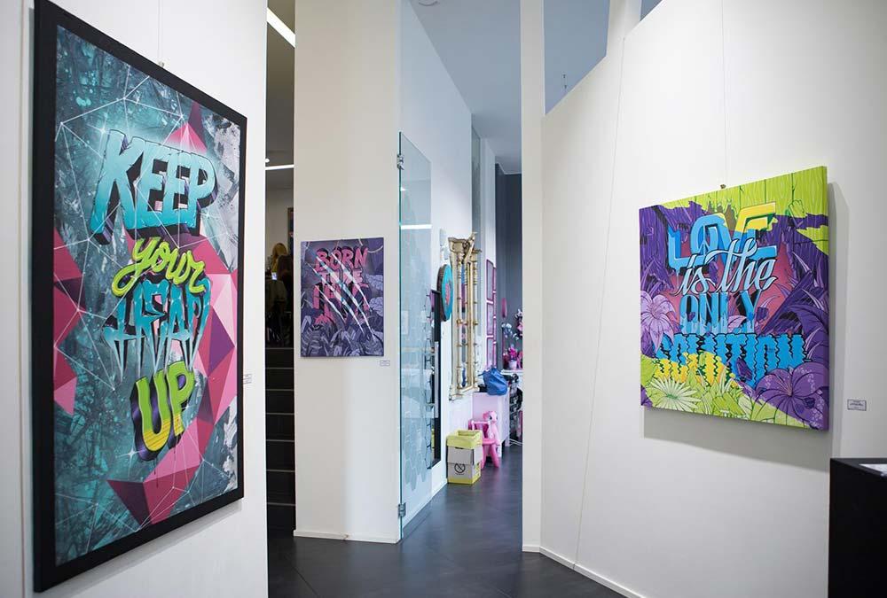 street art Hive Tattoo art gallery Milano