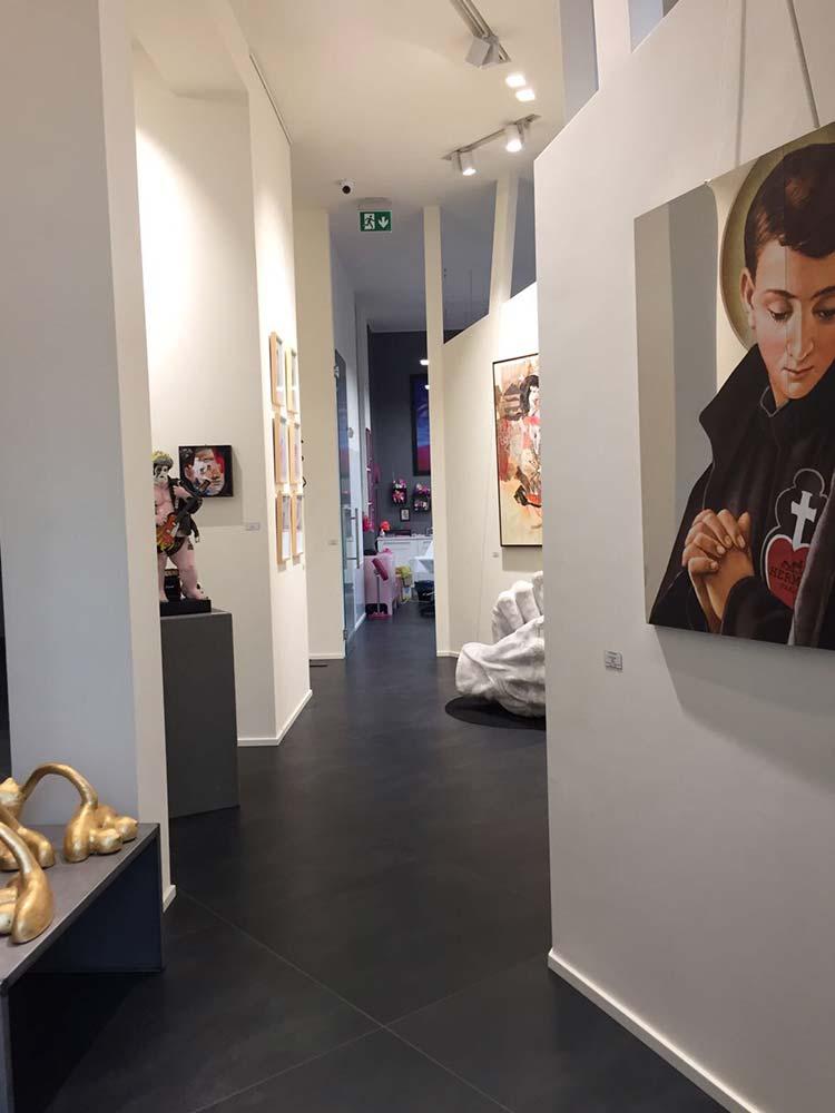 galleria d'arte Hive art Gallery milano