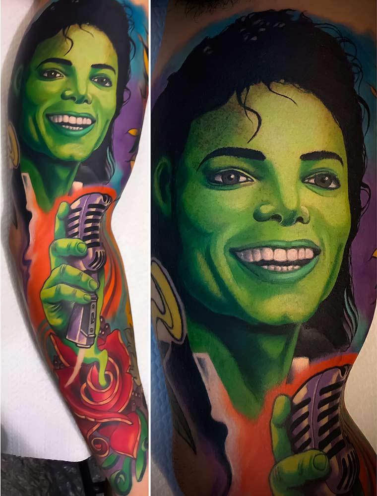 jackson tattoo Milano Hive