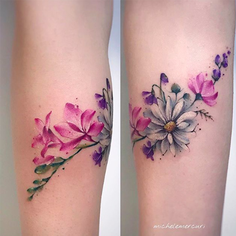 tattoo fiori milano Hive