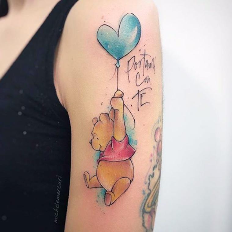 Mercuri Tattoo watercolor Milano
